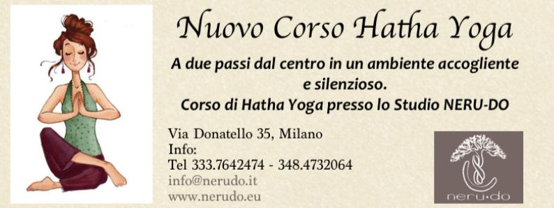 Corso di Hata Yoga ogni lunedi